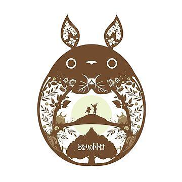 Totoro Beige by Misterfreaks