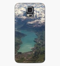 Lake Thun: North Face of the Eiger, Moench and Jungfrau Case/Skin for Samsung Galaxy