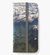 Lake Thun: North Face of the Eiger, Moench and Jungfrau iPhone Wallet/Case/Skin