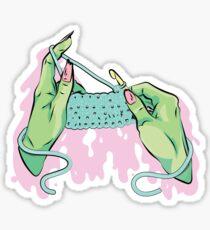 Rotten Dollies - Creep Crochet Sticker