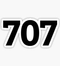 707 Sticker