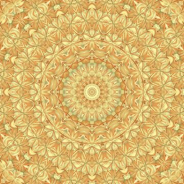 Organic Mandala Pattern by lyle58