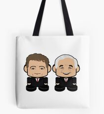 R Squared: Greater Together Politico'bot Toy Robots Tote Bag