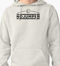 No Jumper Logo Pullover Hoodie