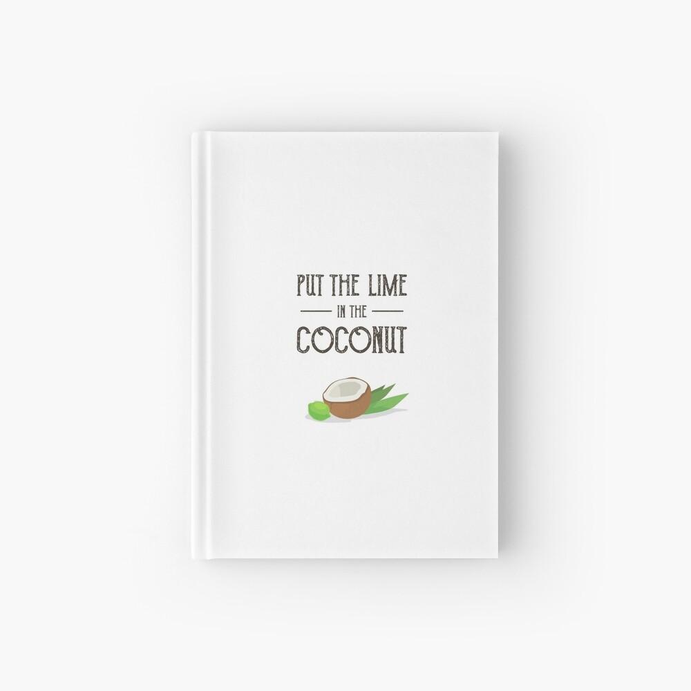 Setzen Sie den Kalk in den Kokosnuss-Druck Harry Nilsson Notizbuch