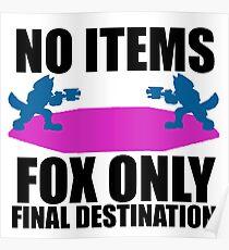 Final Destination Fox Only Poster