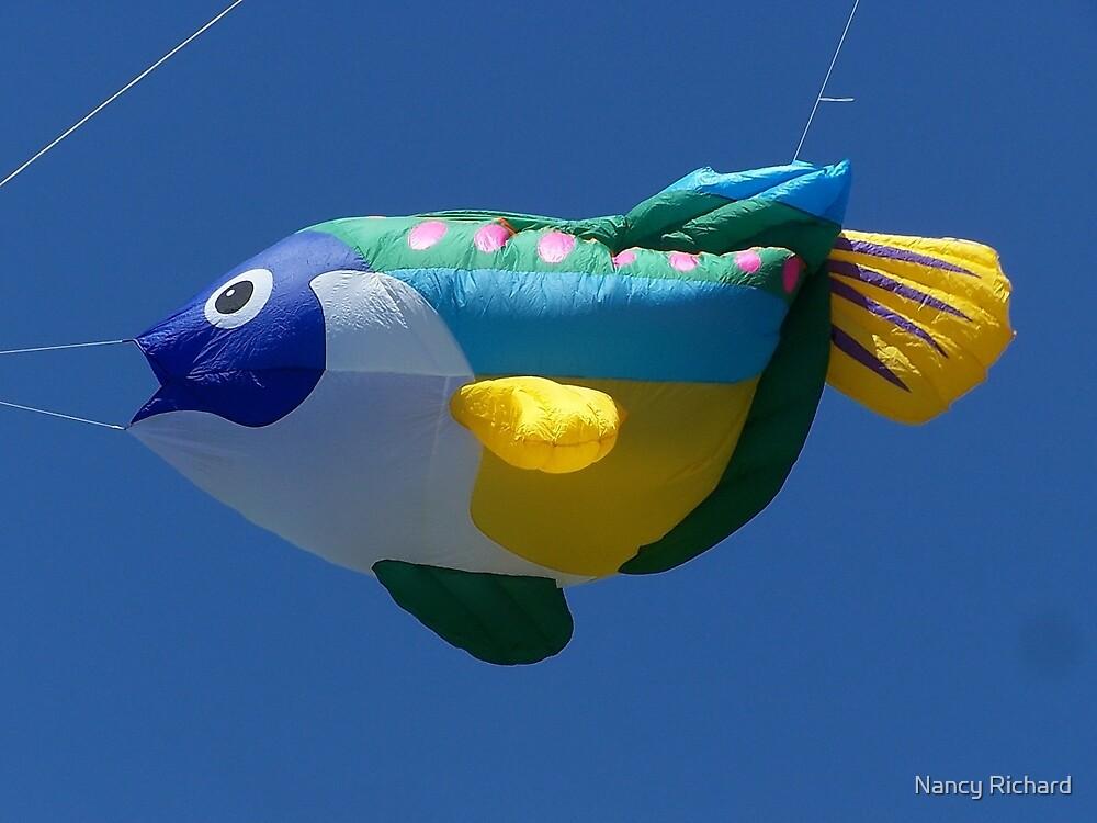"""Go fly a kite  (or a balloon)!"" by Nancy Richard"