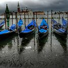 Venice - when the tide is low by hans p olsen