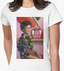 Retro Screech Women's Fitted T-Shirt