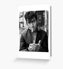 Alex Smoking Greeting Card