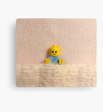 Brickography Pictures - Baby Metal Print