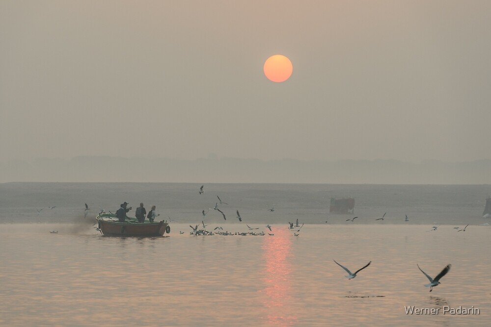 Ganga Sunrise 01 by Werner Padarin