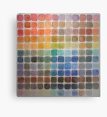 Color Chart Metal Print