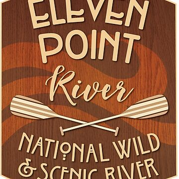 Eleven Point River, National Wild and Scenic River by ginkgotees