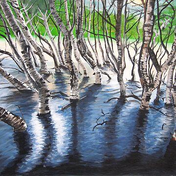 Zebra Treez by brinaka86