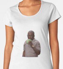 hannibal buress eating lettuce // cabbage - eric andre show Women's Premium T-Shirt