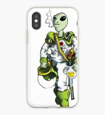 alien pilot is a film fan iPhone Case