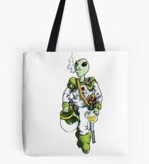 alien pilot is a film fan Tote Bag