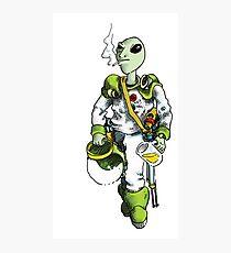 alien pilot is a film fan Photographic Print