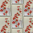 Pen Strips Series #10 Hummingbird Bush by TheRBStudio