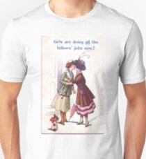 Lesbian Suffragettes Unisex T-Shirt