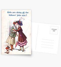 Lesbische Suffragetten Postkarten