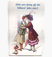 Lesbian Suffragettes Poster