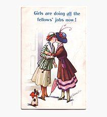 Lesbian Suffragettes Photographic Print