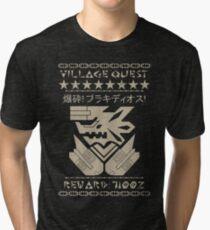Village Quest - Brachydios Tri-blend T-Shirt