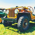 Classic Cool Willys Jeep by TSFPhotoCartoon