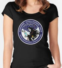 0ba0f9437a66 DEA Cocaine Intelligence Unit Fitted Scoop T-Shirt