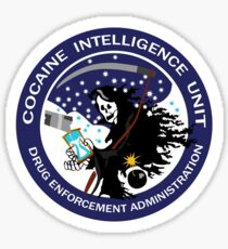 DEA Cocaine Intelligence Unit Sticker