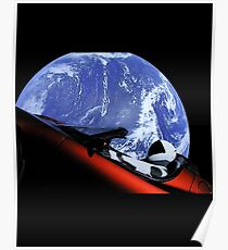 SpaceX Oddity Poster