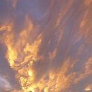 Clouds at sunset by Tony Blakie