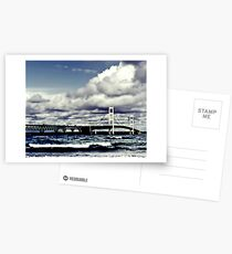 Mackinac Bridge SE Postcards