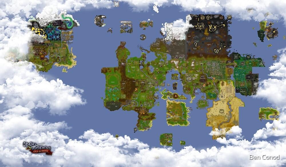 OSRS World map\