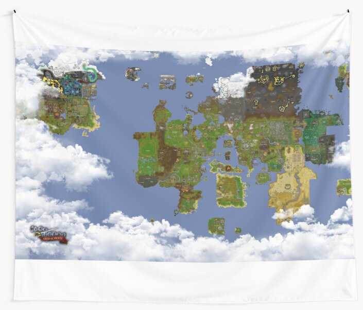 OSRS World map\