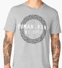 Humankind Human.Kind Be Both   Cute Humanity Human Rights Chose Kind Movement T-Shirt Men's Premium T-Shirt