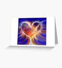 Set me as a seal upon your heart Greeting Card