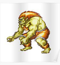 Blanka - Street Fighter Poster