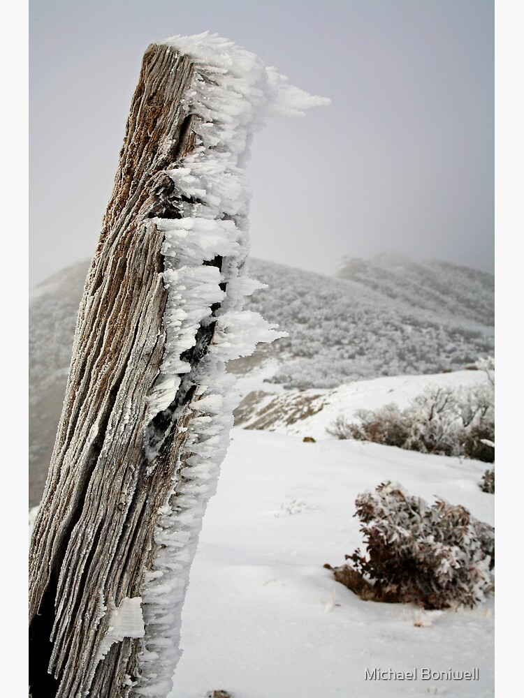 Winter on the Razorback, Mt Hotham, Australia by Chockstone