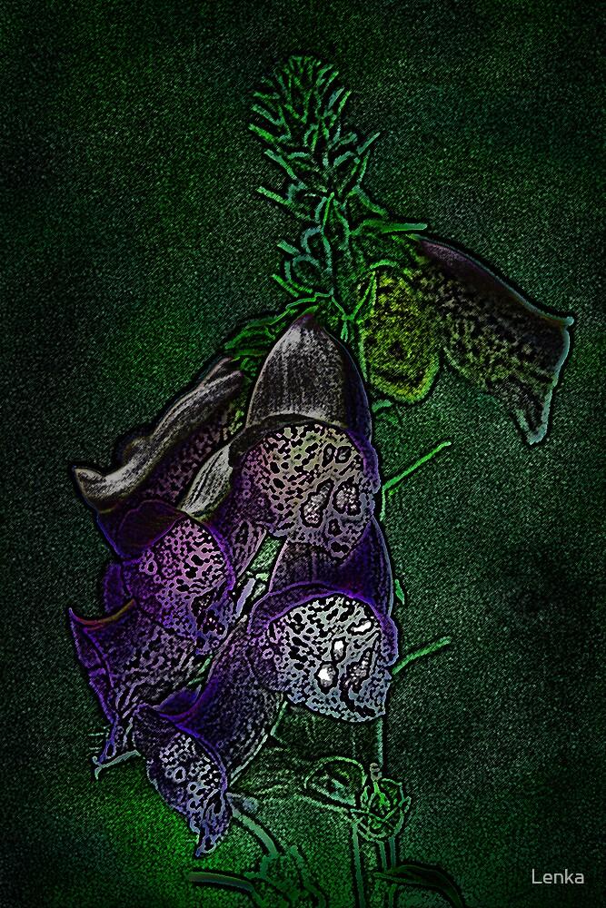 Purple, for you... by Lenka