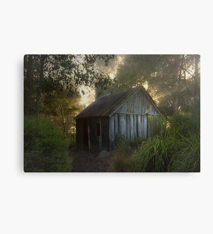 The slab hut . . . Canvas Print