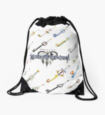 Kingdom Hearts 3 Key Blades Drawstring Bag