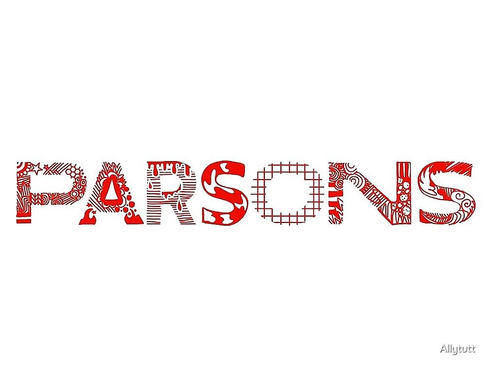 Parsons  by Allytutt
