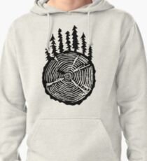 the wisdom is in the trees Pullover Hoodie