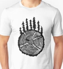Die Weisheit ist in den Bäumen Unisex T-Shirt