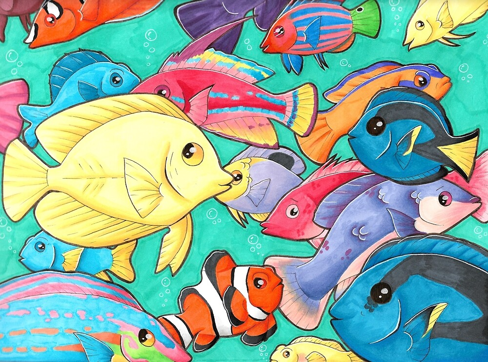 plenty of fish in the sea by labramazing