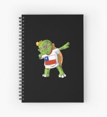 Chile Dabbing Turtle Spiral Notebook