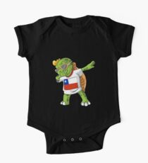 Chile Dabbing Turtle One Piece - Short Sleeve